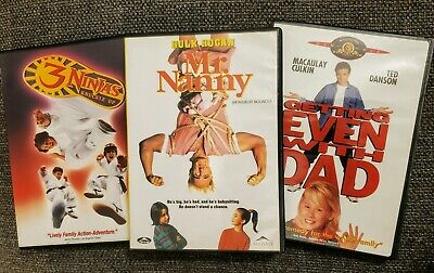 $ CDN40 • Buy Mr. Nanny 3 NINJAS Getting Even With Dad (DVD) Rare OOP Family Comedy Lot