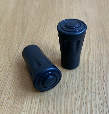 £2.99 • Buy 2 X Spare Replacement Walking Stick Trekking Hiking Pole Rubber Ferrule Ends