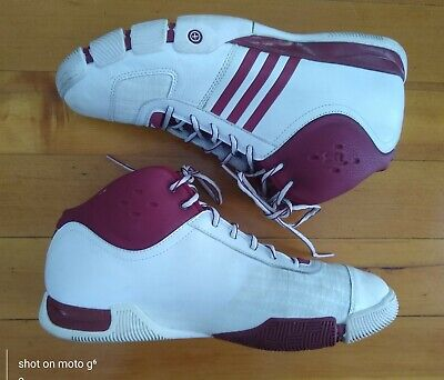 AU45.14 • Buy Adidas Men's Size 12 Hi Top Sneakers Shoes Red White Excellent
