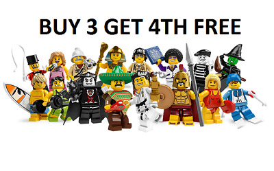 £41.99 • Buy LEGO Minifigures Series 2 8684 New Pick Choose Your Own BUY 3 GET 4TH FREE
