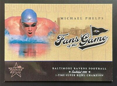 $99.99 • Buy Michael Phelps 2004 Leaf Rookies & Stars Fans Of The Game #301 #FG-2 Rookie Card