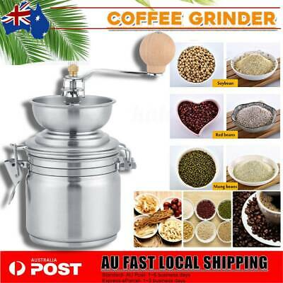 AU18.99 • Buy Stainless Manual Coffee Grinder Herbs Spices Nuts Bean Grinding Mill Hand Tool