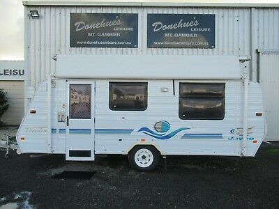 AU15990 • Buy Jayco Freedom Pop Top Caravan Rollout Awning Annex Walls Reverse Cycle Air Con