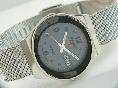 $ CDN24.36 • Buy OLD VINTAGE SEIKO 5 AUTOMATIC JAPAN MEN'S DAY/DATE WATCH 432b-a215197-4