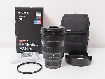 AU2875 • Buy Sony FE 16-35mm F2.8 G Master Full-frame Lens For A7 A7R A7S ~As New Condition