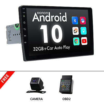 AU350.30 • Buy OBD2+CAM+GA2192 2Din Android 10 9  Car Stereo GPS Navigation DSP WiFi 4G CarPlay