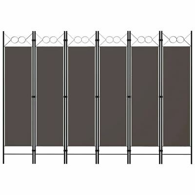 AU57.95 • Buy Room Divider Folding 6 Panel Fabric Privacy Dressing Screen Partition Separator