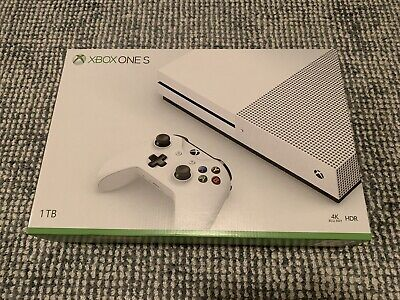 AU480 • Buy Microsoft Xbox One S 1TB White Console, Spare Control, Headset And Game