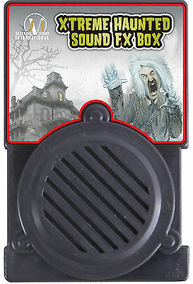 $ CDN24.28 • Buy Halloween Xtreme Haunted Sound Fx Box Prop Decoration Haunted House Cemetary