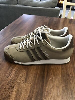 $ CDN62.66 • Buy Adidas Originals Samoa Shoes Low Top Sneakers Men's Size 11 Tan Brown Stripe