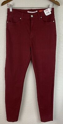 $ CDN25.05 • Buy New Celebrity Pink High-Rise The Spice Maroon Pants Juniors Size 7 (28)