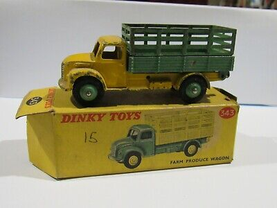$ CDN74.98 • Buy 1954 Dinky Toys Dodge Farm Produce Wagon Truck #343-g Yellow With Original Box