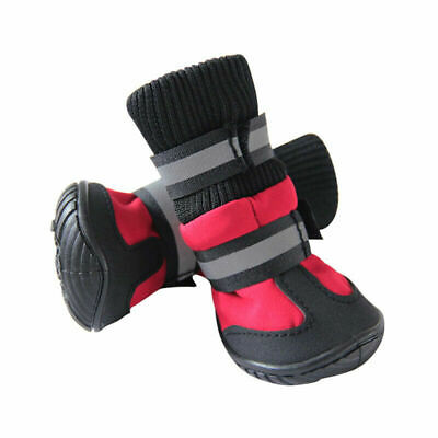 £15.77 • Buy Pets Dogs Shoes Waterproof Protector Anti-slip Snow Outdoor Climbing Boots UK