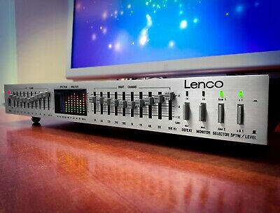 $ CDN457.43 • Buy LENCO 🔥RARE🔥 Vintage Stereo Graphic Equalizer With Spectrum Analyzer