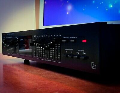 $ CDN686.14 • Buy LUXMAN G-111 (1988) 💎MINT💎 Vintage Stereo Graphic Equalizer Spectrum Analyzer