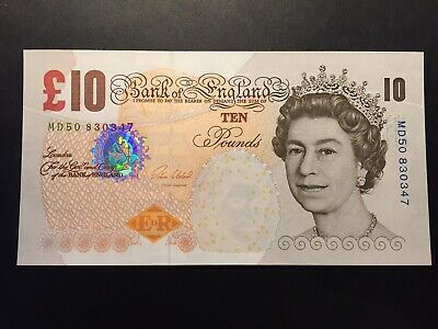 £19 • Buy Bank Of England Cleland 10 Pounds Last Paper  Issue Note B411 £10 UNCIRCULATED
