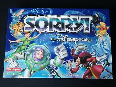 £26.99 • Buy Sorry Board Game Disney Edition Waddingtons 100% Complete