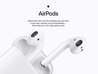 AU129.24 • Buy Apple AirPods 2nd Generation Wired Charging Case ⭐⭐⭐⭐⭐