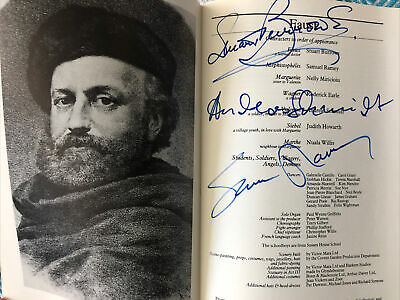 £12.50 • Buy Signed Faust Programme - Royal Opera House 1986. Burrows; Schmidt; Ramsey.