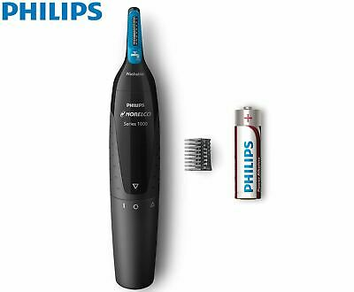 AU17.99 • Buy Philips Nose Ear Eyebrow Trimmer Facial Hair Shaver Portable Cordless Battery
