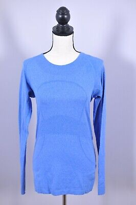 $ CDN16.56 • Buy Lululemon Run Swiftly Tech LS Shirt Blue Women's 8