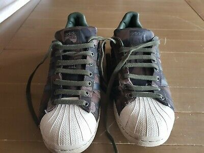 $ CDN8.62 • Buy Men's ADIDAS SUPERSTAR Camouflage Trainers BZ0188. UK Size 8