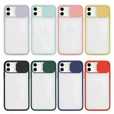 £3.49 • Buy Slide Camera Lens Protector Bumper Cover Case For IPhone 12 PRO MAX X XR SE2020