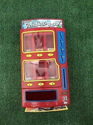 $34.99 • Buy Mars M&M's Candy Vending Machine Penny Bank 2004 Snickers Twix Skittles Fun Size