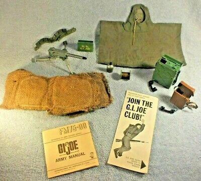 $ CDN43.59 • Buy Vintage HASBRO GI JOE 1964 ACTION SOLDIER COMMAND POST With Accessories
