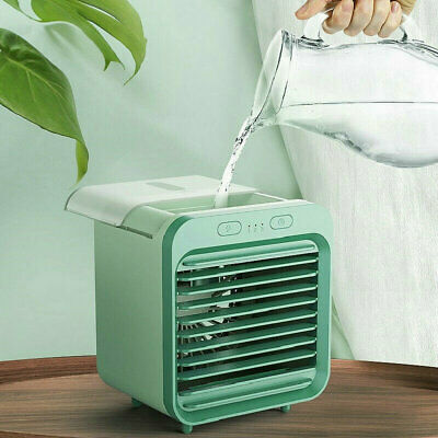 AU29.75 • Buy Rechargeable Water-cooled Air Conditioner Cooling Fan Air Cooler Summer Portable