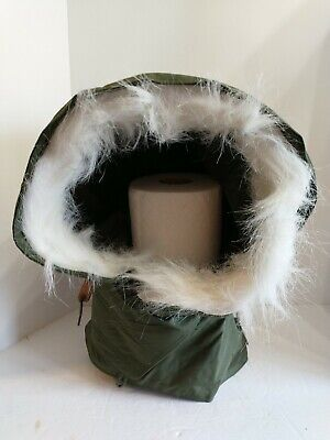 $19.88 • Buy OG-107 Extreme Cold Weather Hood W/ Synthetic Fur Ruff M-51 Fishtail M-65 Parka