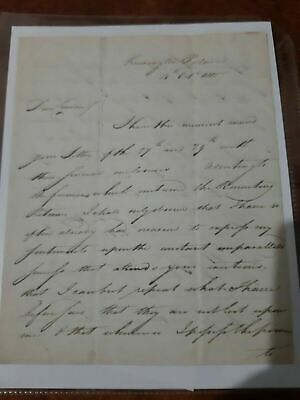 £288.44 • Buy Signed Letter Written By The Father Of Queen Victoria, The Duke Of Kent