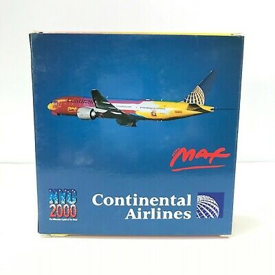 $128 • Buy [Dragon Wings] - 1:400 Continental Airlines B777-200 PETER MAX NYC2000 DR55438
