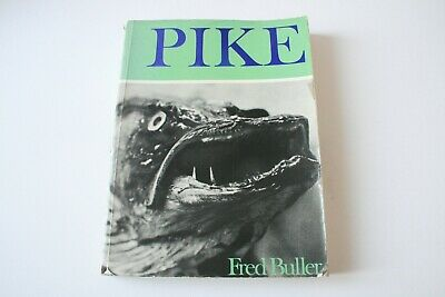 £60 • Buy Pike By Fred Buller 1st Edition 1971 Paperback Book Fishing Angling
