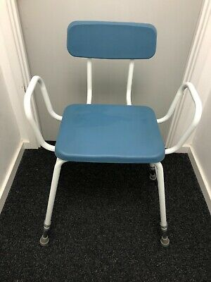 £10 • Buy Perching Stool With Arms And Back - Adjustable Height - Mobility Aid
