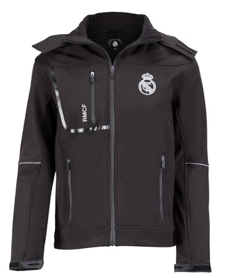 £24.99 • Buy Real Madrid Woman's Jacket Soft Shell Shower Jacket - Black - New