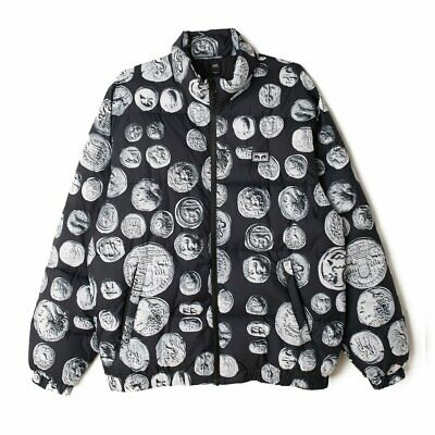 £67.73 • Buy Mens OBEY Clothing Loot Coins Puffer Jacket Black