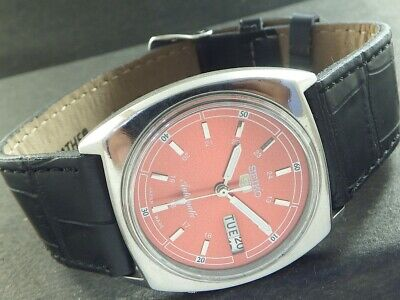 $ CDN10.28 • Buy OLD VINTAGE SEIKO 5 AUTOMATIC JAPAN MEN'S DAY/DATE WATCH 443a-a221576-9