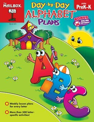 $38.95 • Buy DAY-BY-DAY ALPHABET PLANS (PREK-K) By Mailbox Books Staff **Mint Condition**
