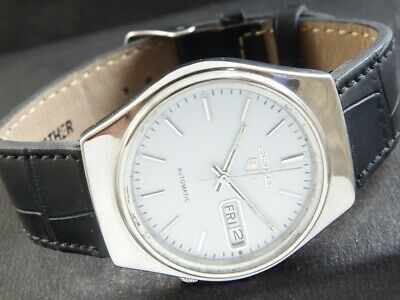 $ CDN13.12 • Buy OLD VINTAGE SEIKO 5 AUTOMATIC JAPAN MEN'S DAY/DATE WATCH 439-a220232-4