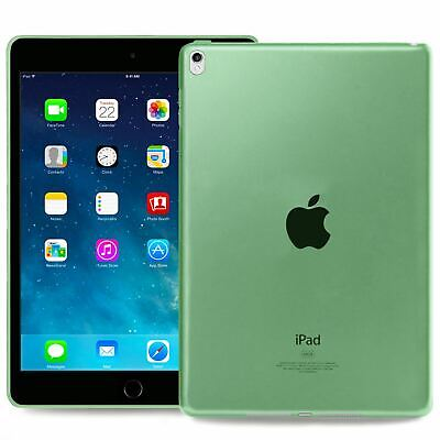 AU5.50 • Buy Transparent Silicone Cover Case For Apple IPad Air 3 & Pro 10.5 In Green