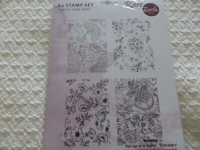 £5 • Buy Rare Earth Floral Stamps