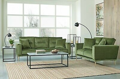 $995 • Buy Ashley Furniture Macleary Sofa And Loveseat Living Room Set