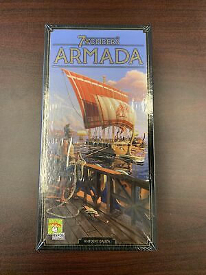 AU41.45 • Buy 7 Wonders: Armada Expansion (New And Sealed)