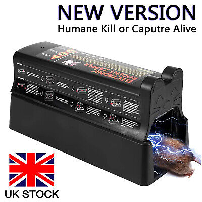 £27.99 • Buy Electronic Mouse Trap Mice Rat Killer Pest Victor Control Electric Zapper Rodent