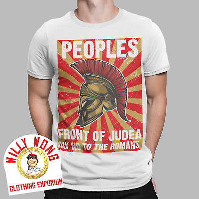 £7.99 • Buy Peoples Front Of Judea T-Shirt Retro Movie Life Of Brian Python Messiah Tee Gift
