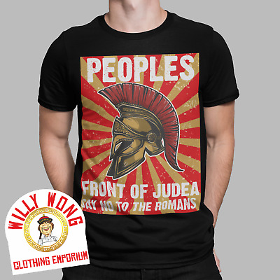 £9.99 • Buy Peoples Front Of Judea T-Shirt Retro Movie Life Of Brian Python Messiah Tee Gift
