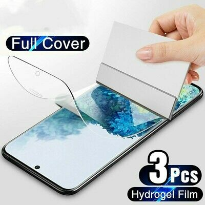 $ CDN3.40 • Buy 3Pcs Hydrogel Film For Samsung Galaxy S10 S20 S9 S8 Plus Screen Protector  Note9