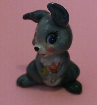 £12 • Buy Wade Whimsies THUMPER Disney First Issue Set 2 1956-1965 Pink Cheeks