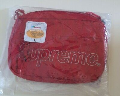 $ CDN214.86 • Buy New And Unopened FW18 Supreme Red Shoulder Bag Water And Abrasion Resistant
